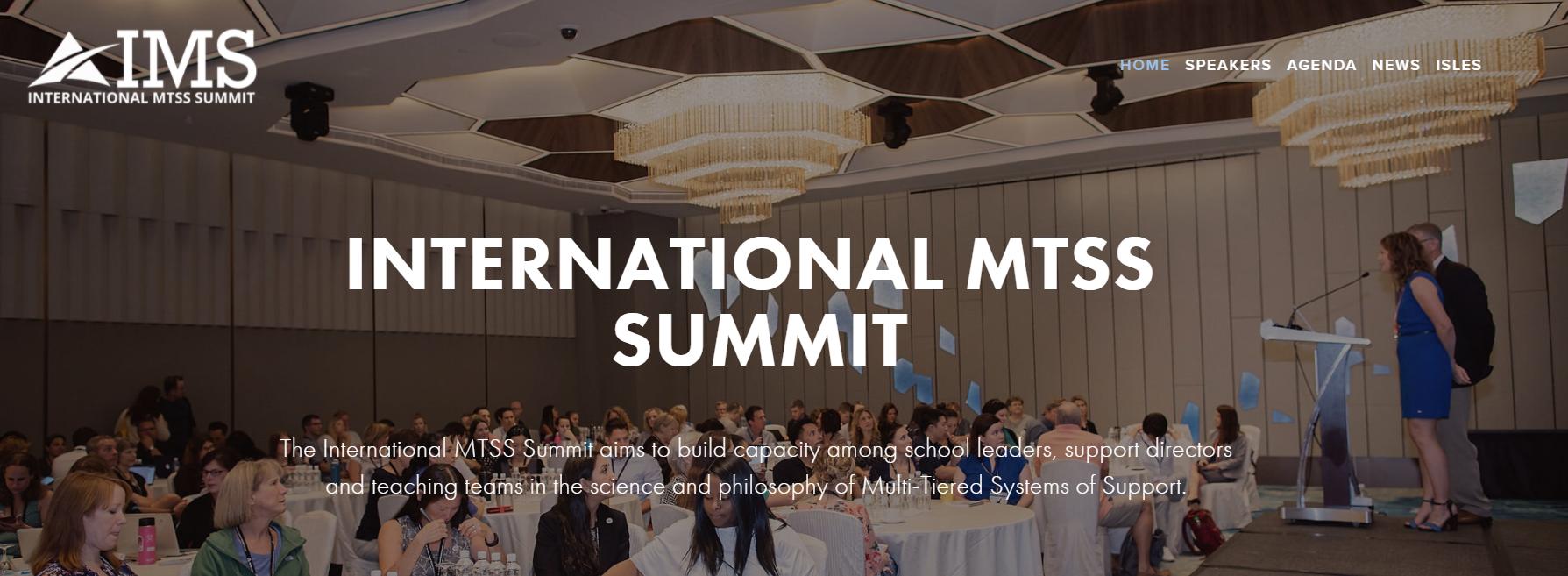 ČOSIV na mezinárodním Summitu MTSS
