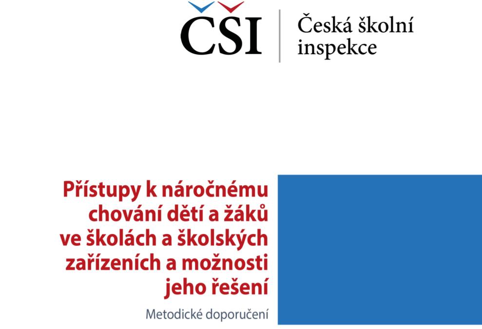 Pozitivní podpora chování PBIS v metodickém dokumentu ČŠI